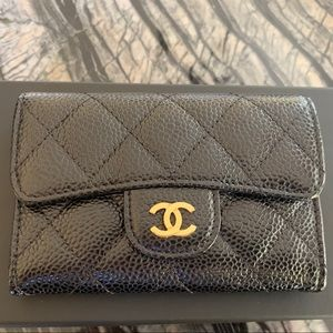Chanel O Card Holder